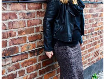 Easy DIY Jersey Maxi Skirt