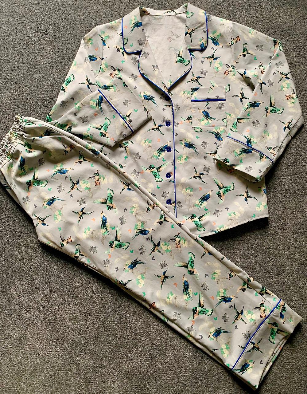 Closet Case Patterns Carolyn Pyjama Review