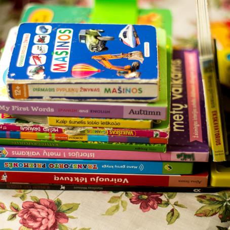 Ką skaito mano mažylis?