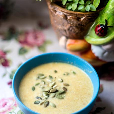 Vištienos, morkų ir kokosų sriuba (nuo
