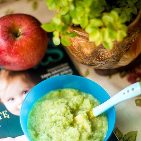 Avokado ir obuolio draugystė (nuo 6 mėn)