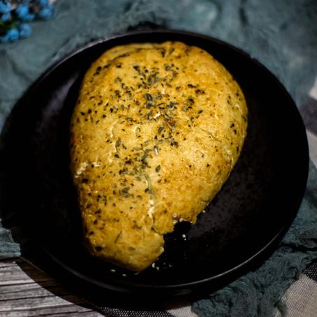 Orkaitėje keptas varškės sūris