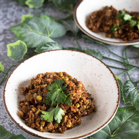 Antis su ryžiais