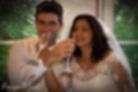 Couple Toast Champagne Weddings