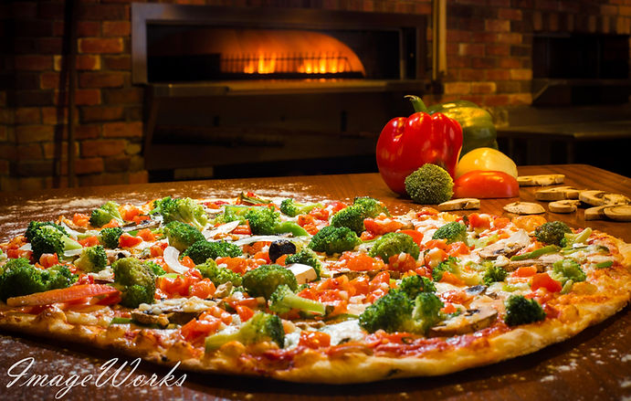 Pizza Photography Brick Oven - On location