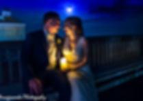 Blue Light Cinemati Wedding Photography
