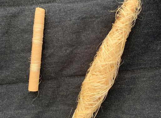 うー績み --- 繊維から糸へ
