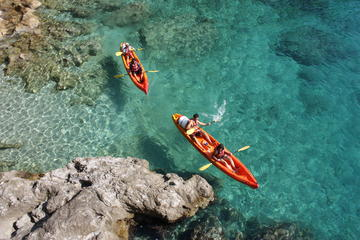 Kayak in beautiful Croatian waters