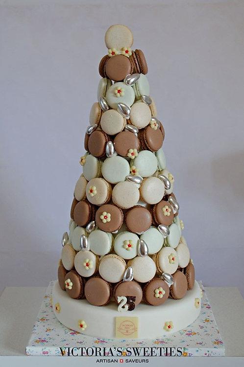 Tour de macarons (44 pièces)