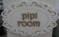 Placa Pipi Room