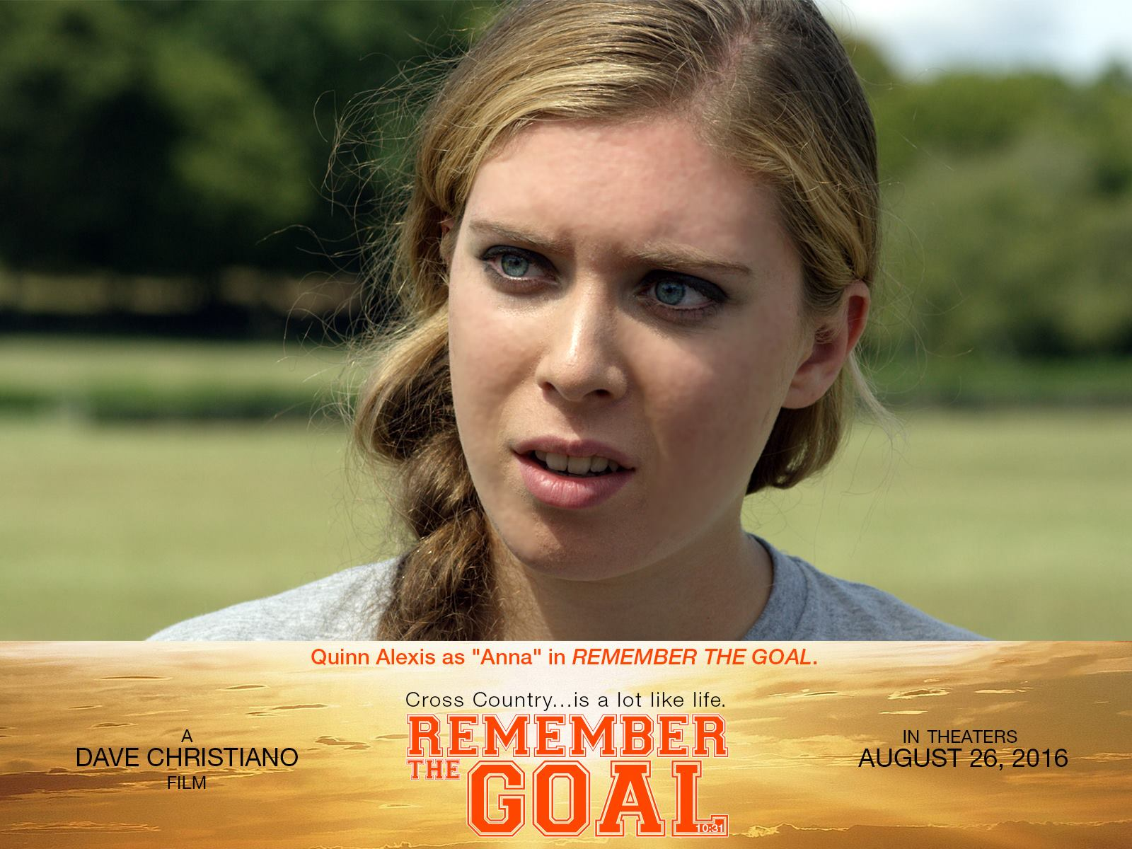 "Anna in ""Remember the Goal"""