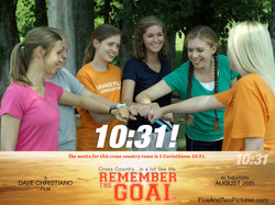 Remember the Goal production still