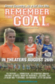 "Official movie poster for the upcoming sports drama, ""Remember the Goal"""