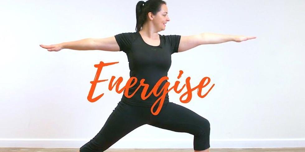 Simple Energising Yoga