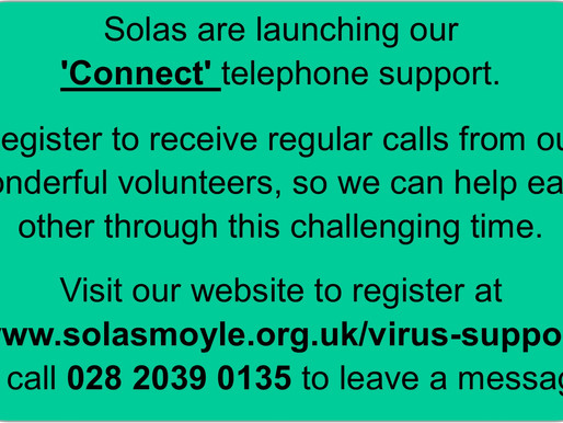 Solas Keeping Connected Support