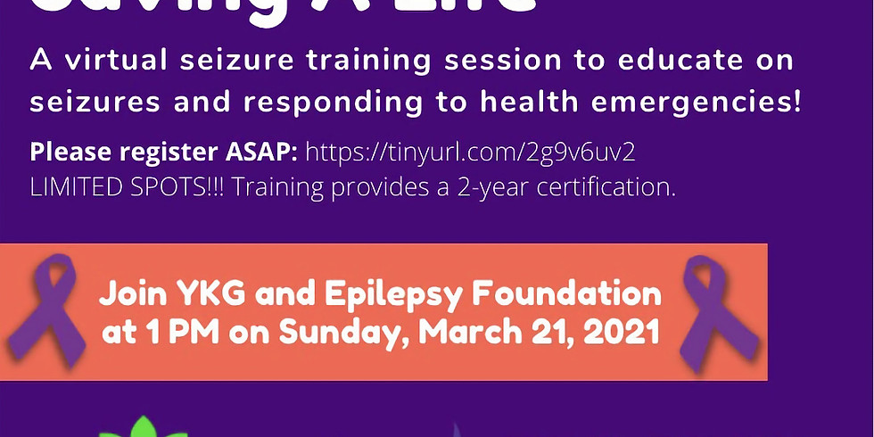 Certification in Seizure First Aid