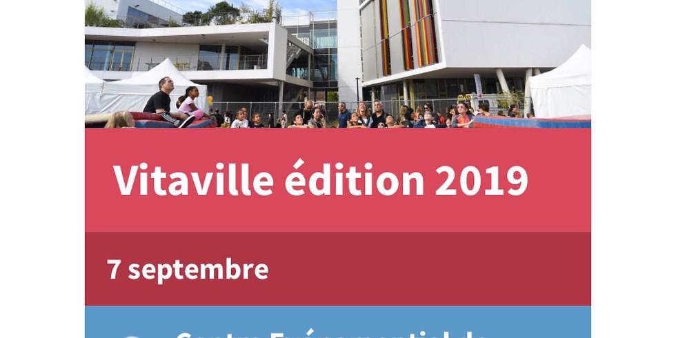 Vitaville samedi 7 septembre 9h-17h