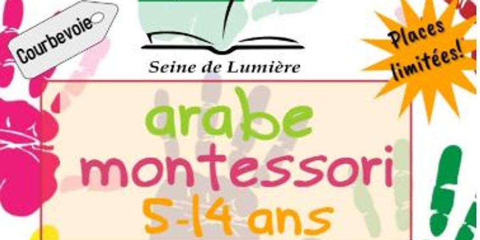 Inscription en cours Arabe Montessori (les dernières places)