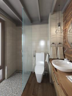 Ванная при хозяйской спальне