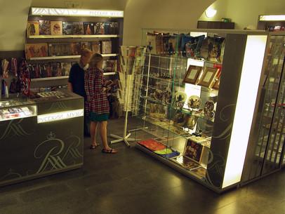 Один из первых наших магазинов для Русского музея