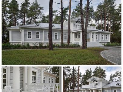 Классический стиль загородного дома.