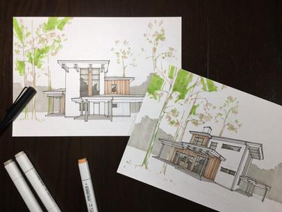Создание готовых проектов загородных домов