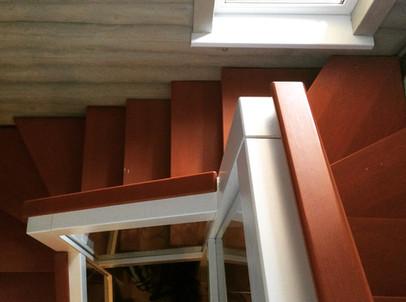 Лестница в частном доме от НБ_Частный Девелопмент