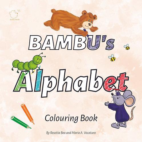 Bambu's Alphabet Colouring Book