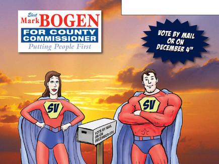 Mark Bogen for County Commissioner