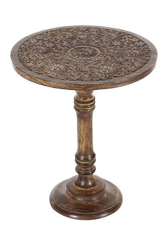 Urban King wooden round coffee table