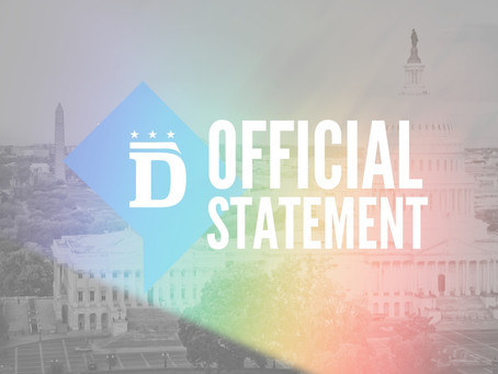 DC Democratic Party and Gertrude Stein Club Statement on Pride Month