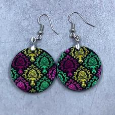 Round earrings $12.00