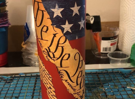 Custom tumblers. Have a  request? Just contact me