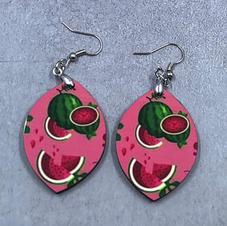 Drop earrings $12.00