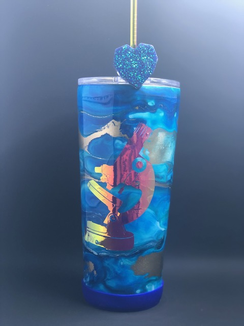 Alcohol Ink Tumbler