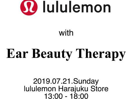 lululemon Harajuku Store コラボイベント