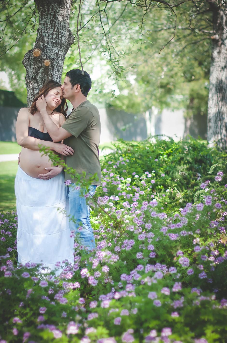 Fotografia de embarazo en barcelona