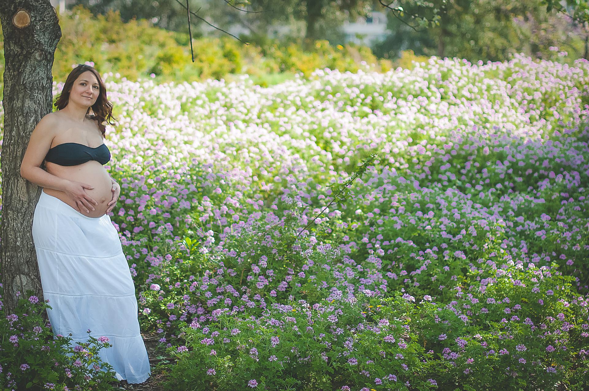Fotografa de embarazo en Barcelona