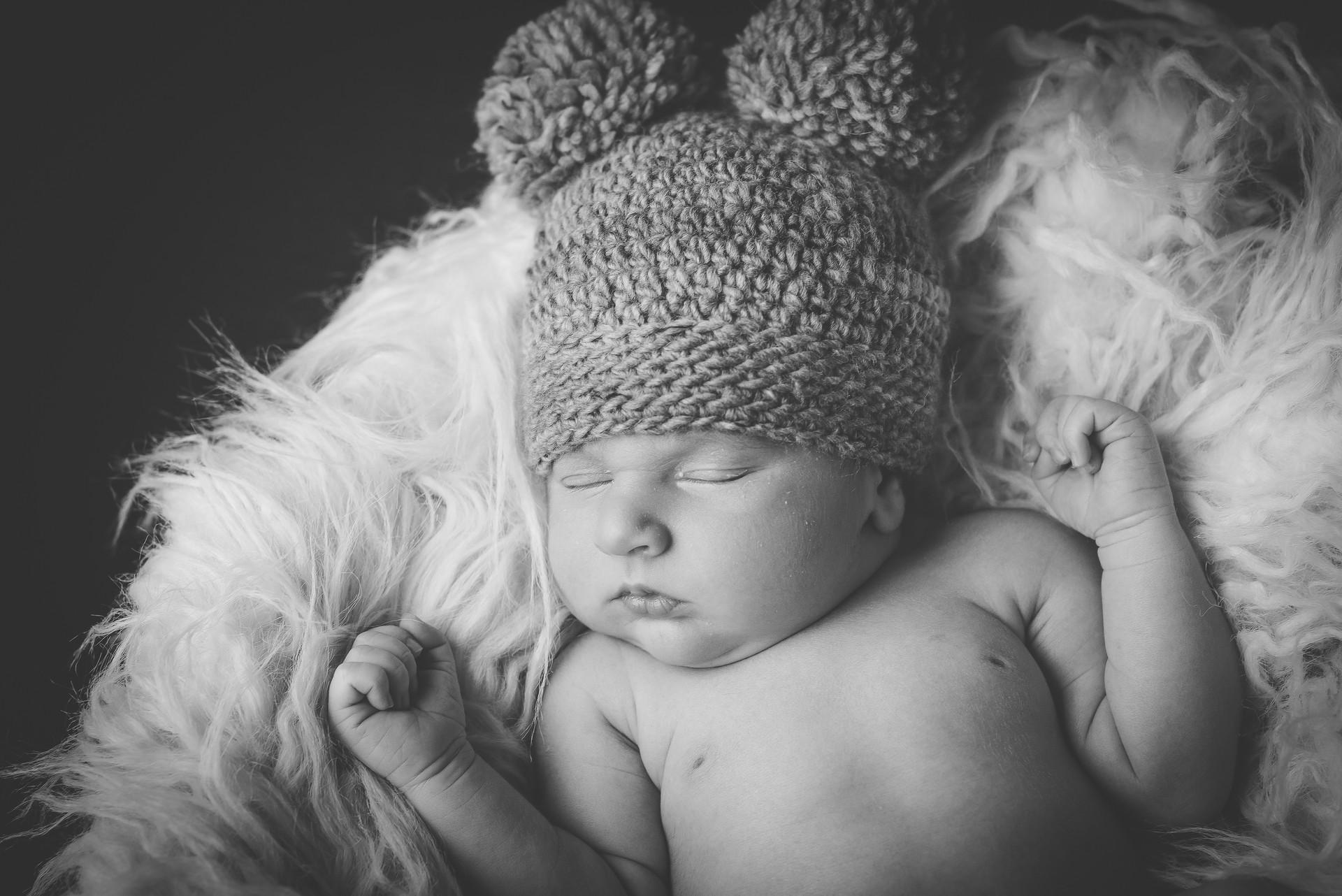 Sesión de fotos de bebé a domicilio en Barcelona colecciona momentos