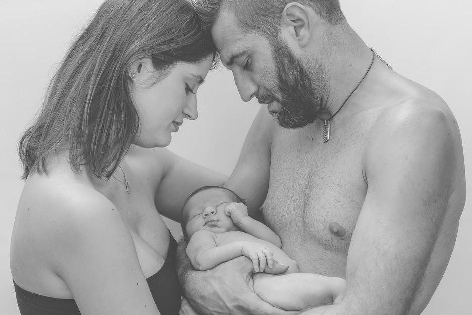Sesión de fotos newborn recién nacido en Barcelona