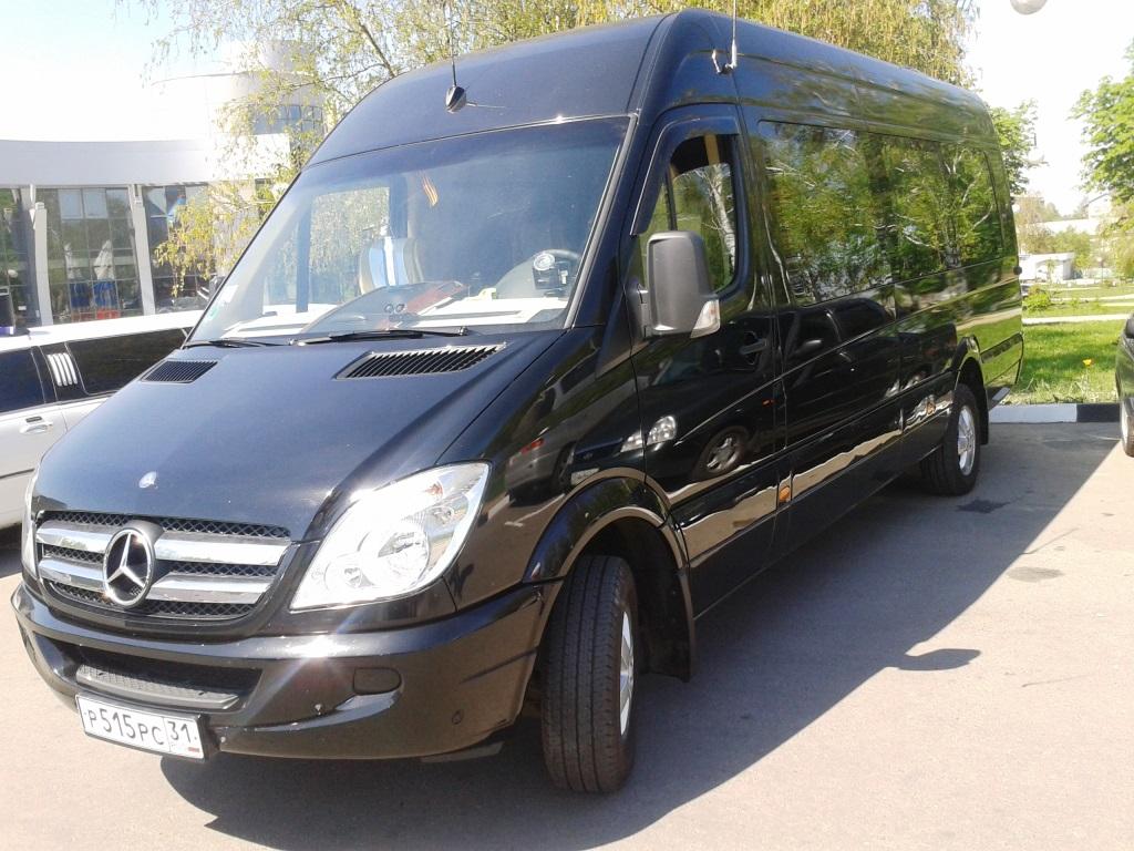 Заказ пассажирского микроавтобуса