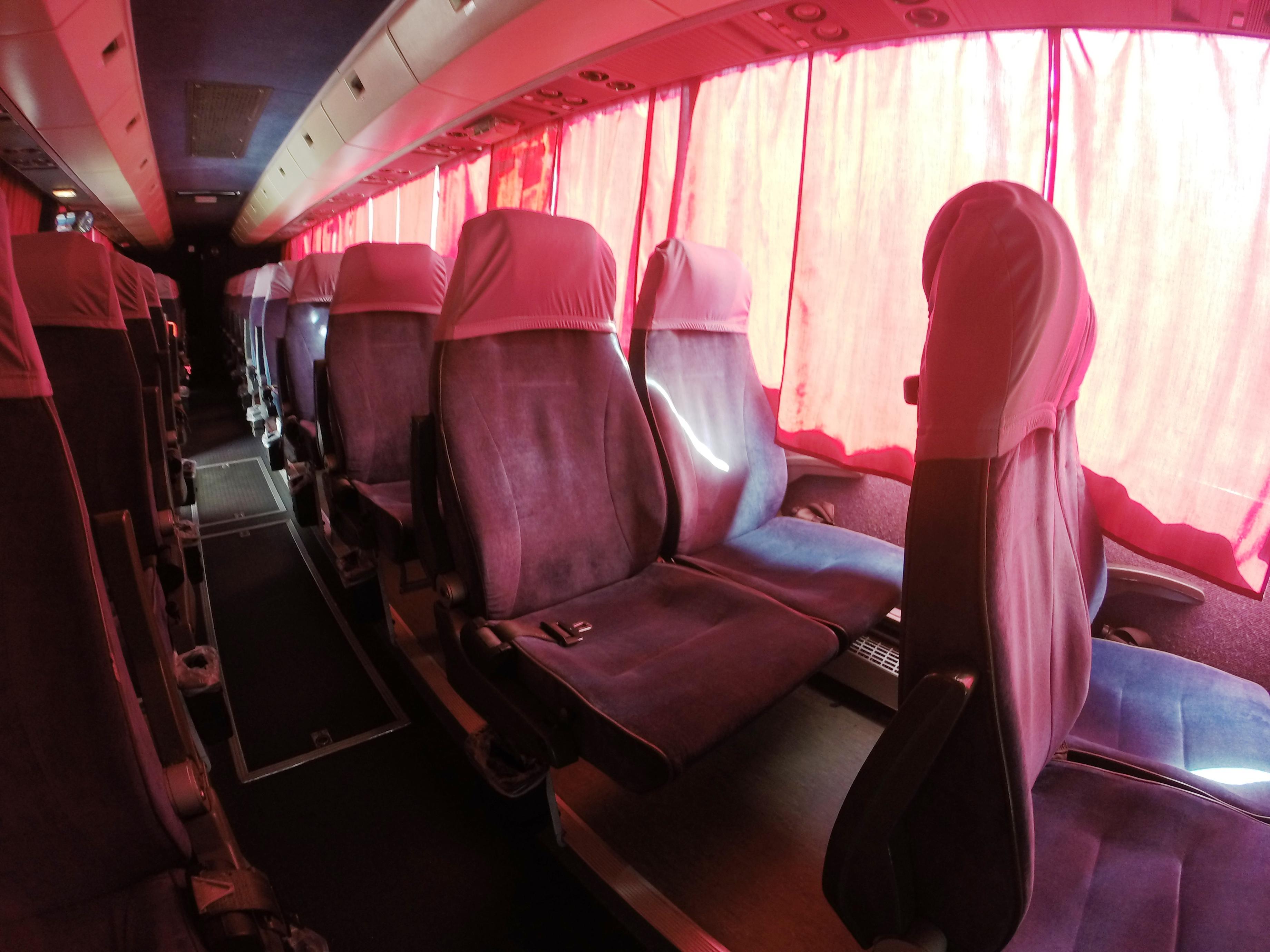 Туристический автобус Вольво