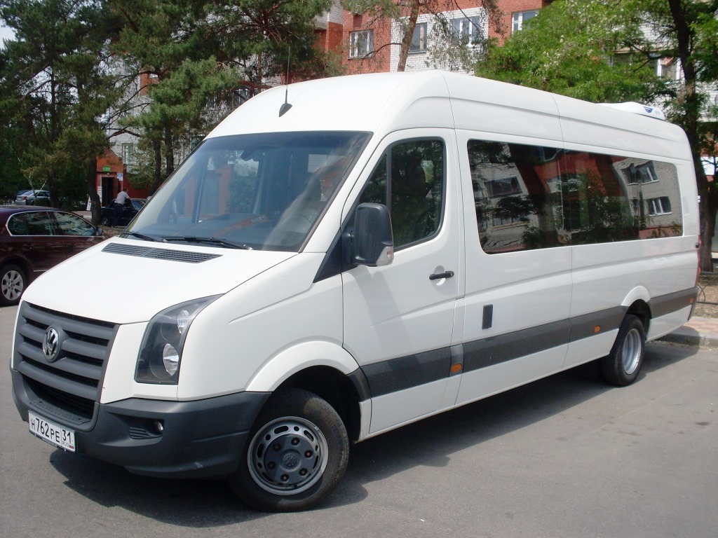 Заказ микроавтобуса Crafter