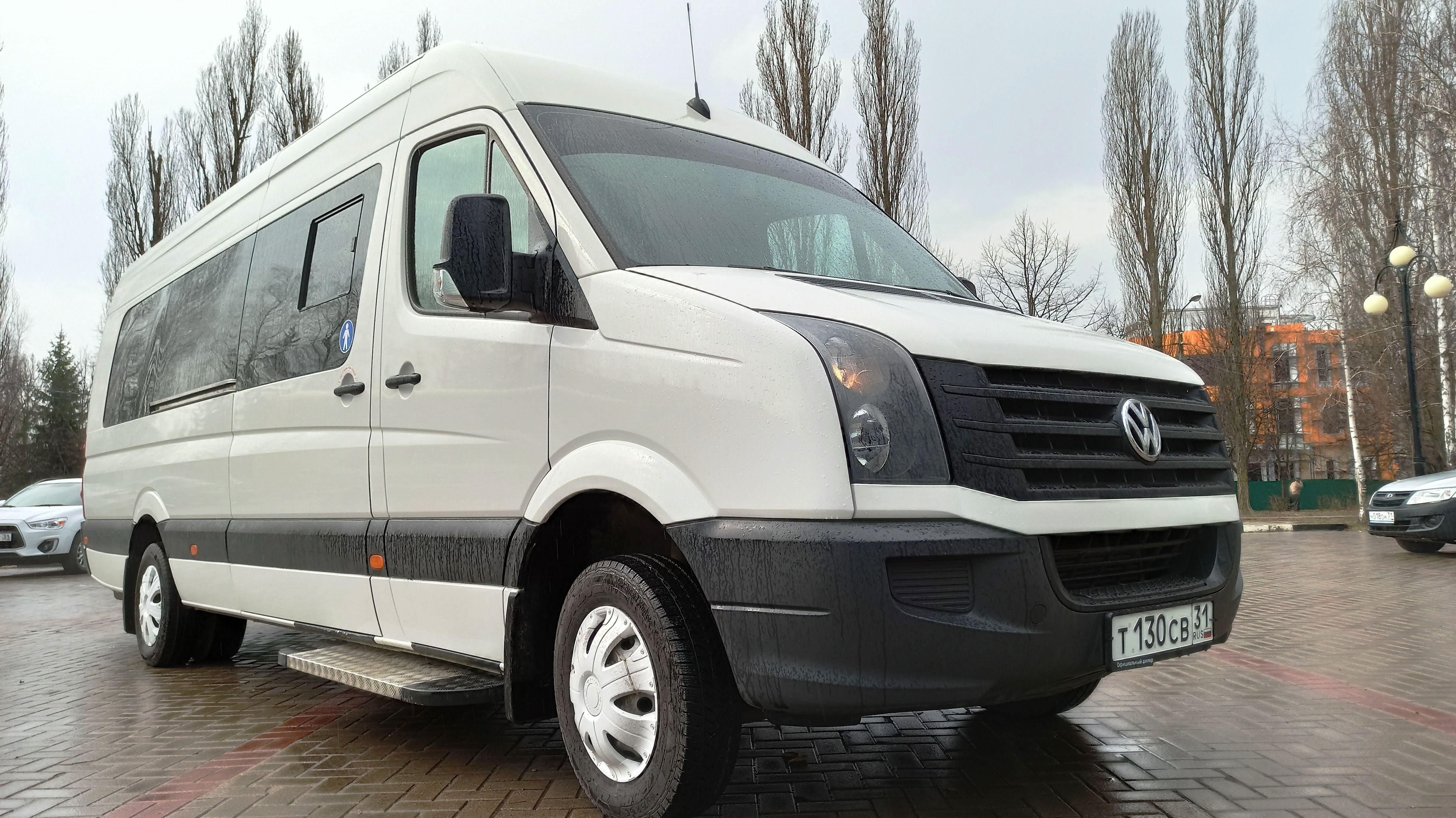 Микроавтобус Фольксваген Крафтер