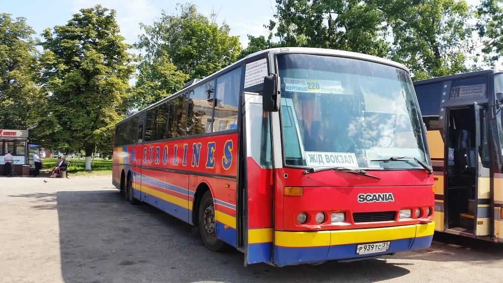 Городские автобусы: Скания 65 мест