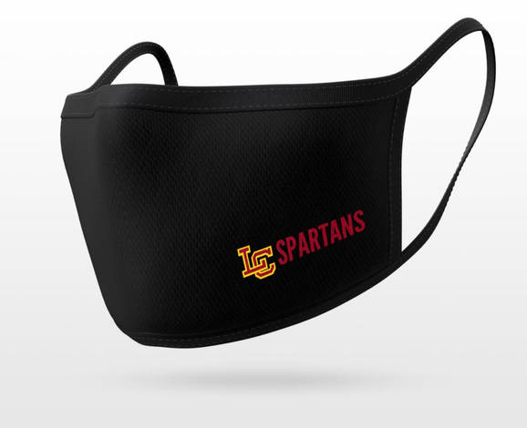 LC Spartans Mask