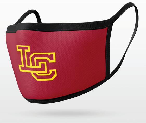 Burgundy LC Mask