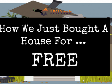 How We Just Bought A House For ... FREE