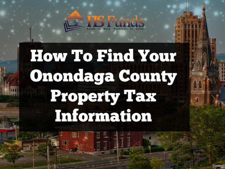 How To Find Your Onondaga County Property Tax Information