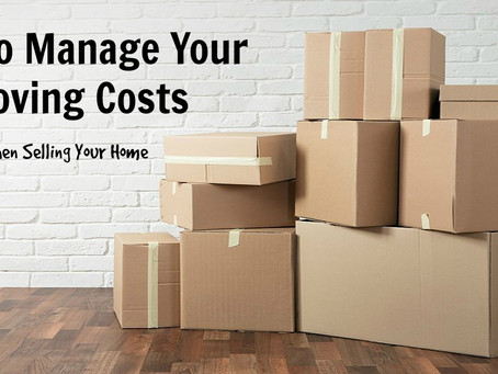 Tips to Manage Your Moving Costs When Selling Your Home